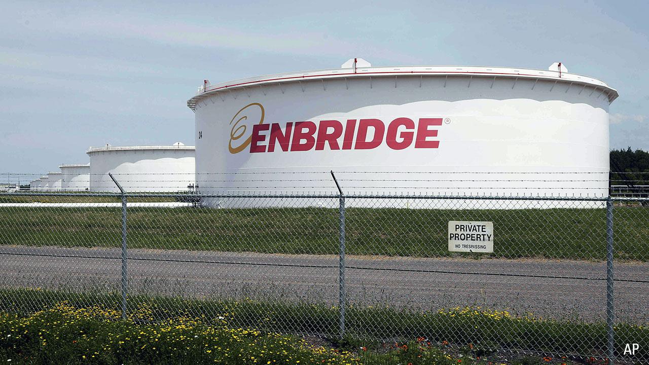 Enbridge plant
