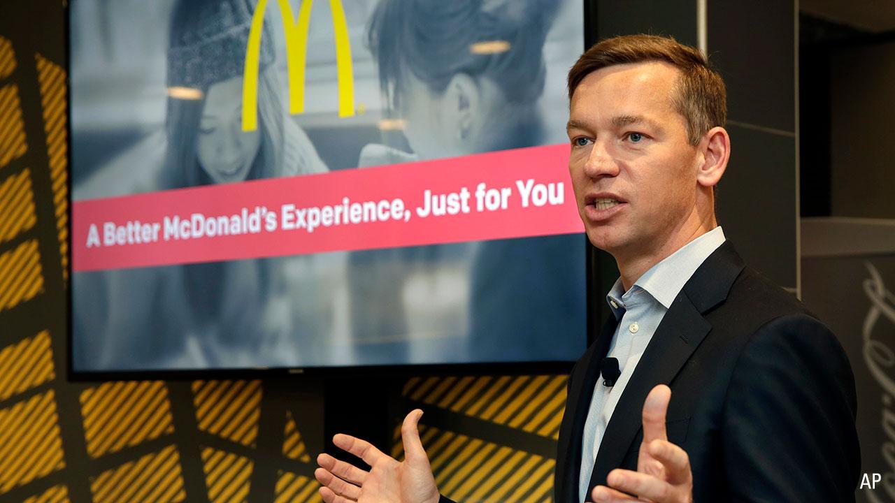 McDonald's incoming ceo Chris Kempczinski