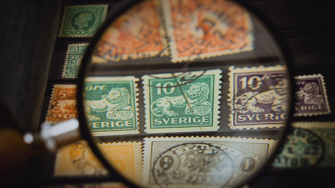 stamp collection collectibles