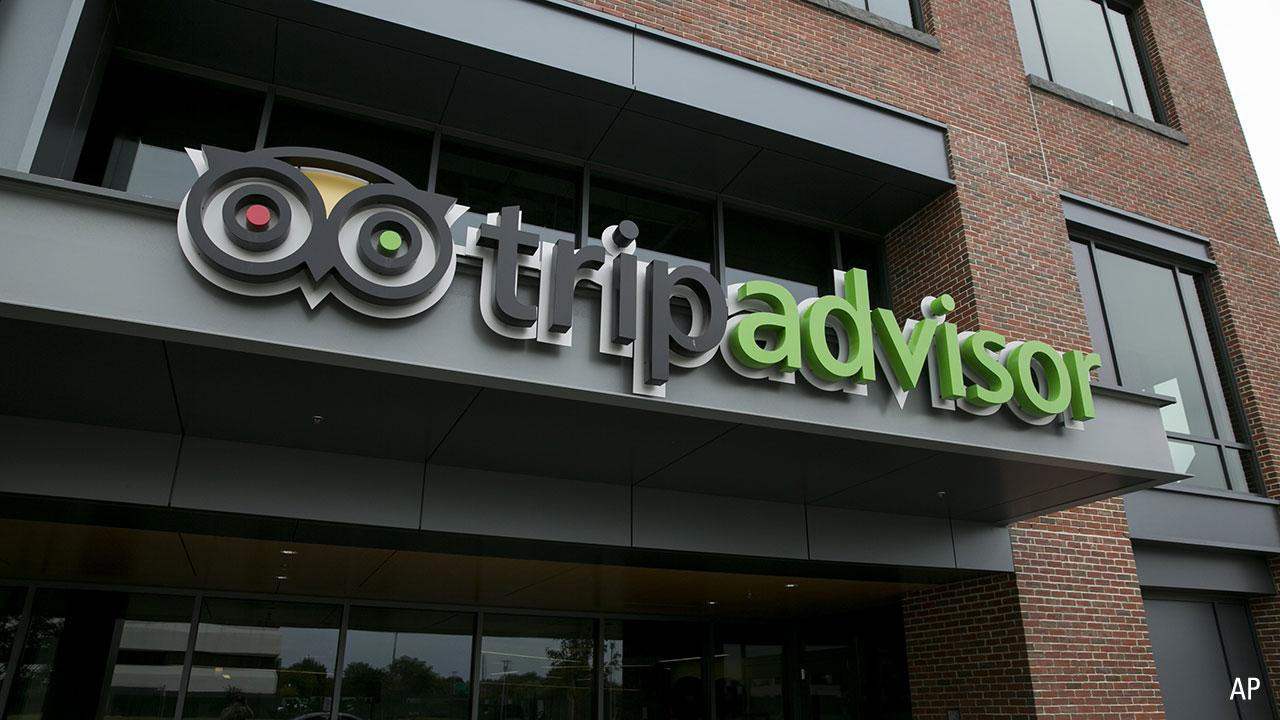 TripAdvisor exterior w logo