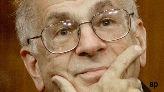 Kahneman author Nobel economy behavioural