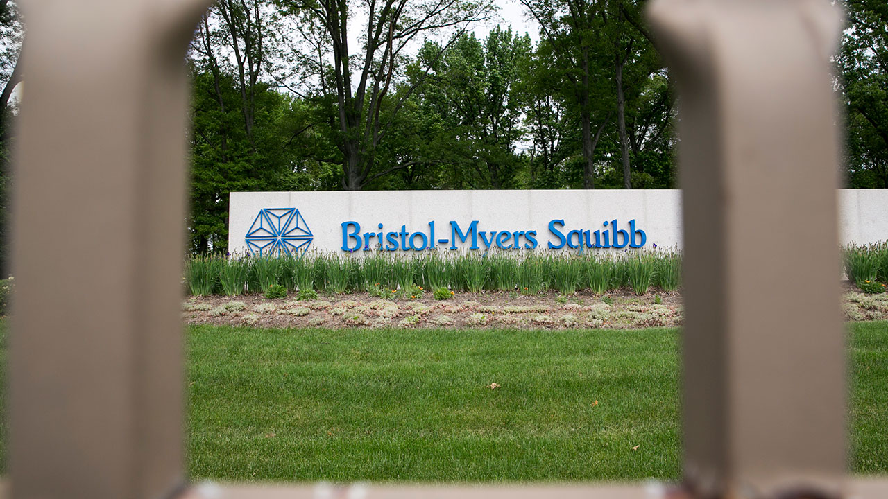 Bristol-Myers Squibb facility in New Brunswick, New Jersey