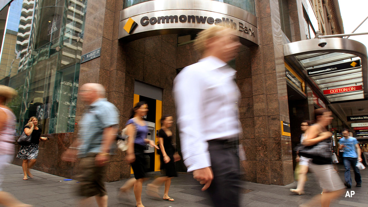 Commonwealth Bank exterior view