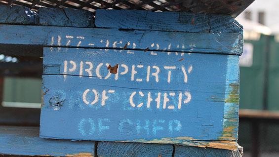 pallets logistics CHEP