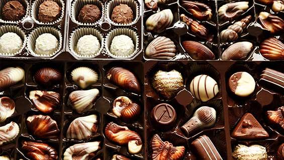 ETF chocolates
