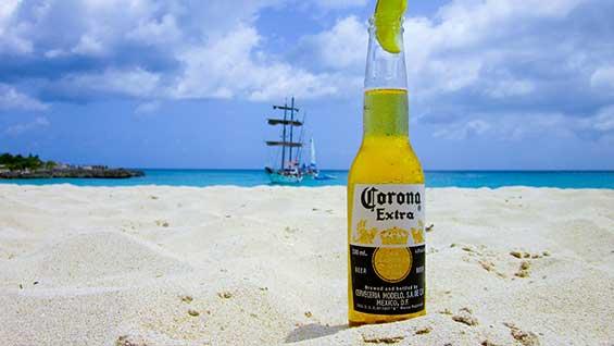 Corona Beer Beach