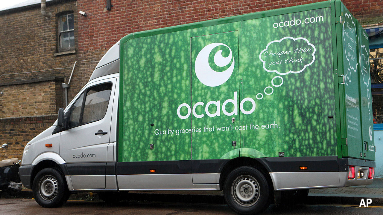 Ocado grocery online delivery uk