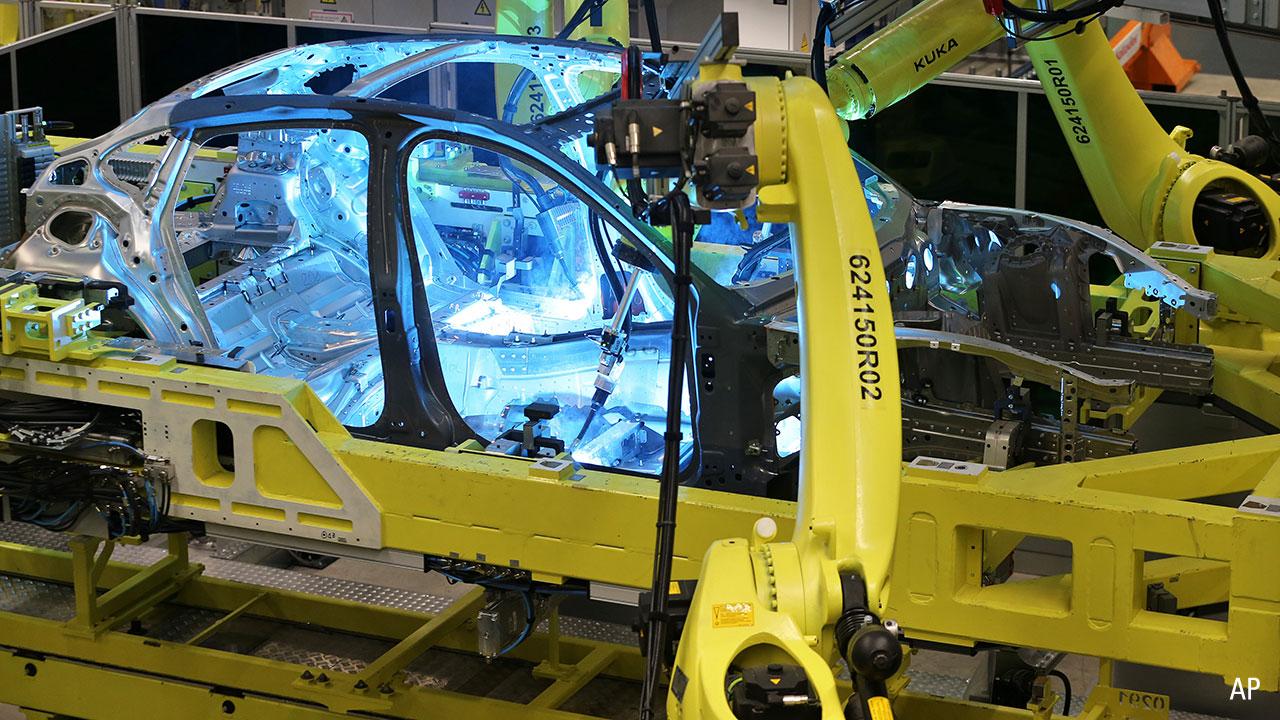 Porsche manufacturing plant