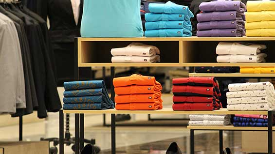clothes shops retail sales spending
