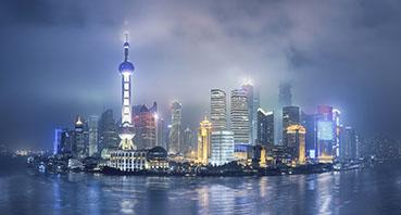 China Asia skyline tariff debt